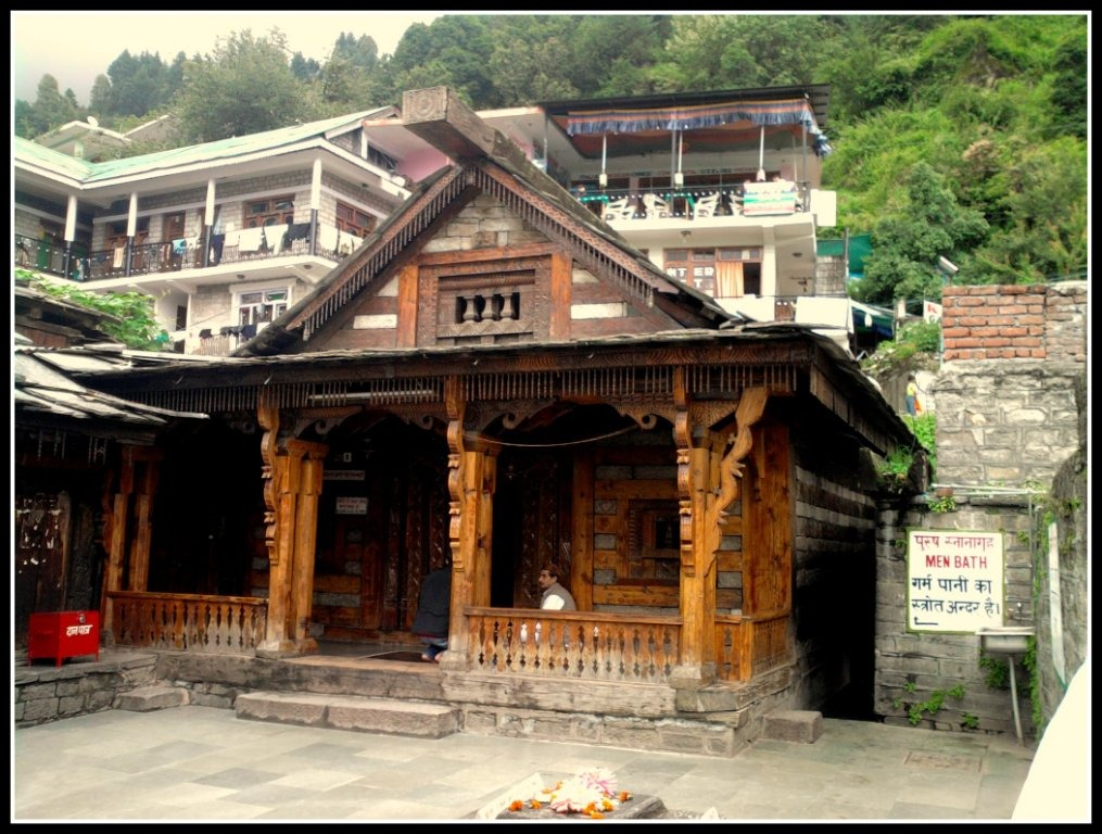 Natural Hot Water Spring at Vashisht, Manali - Himachal Pradesh