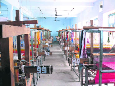 The government has introduced the handloom mark, which is a certification that the product is handcrafted and not machine made  The government has introduced the handloom mark, which is a certification that the product is handcrafted and not machine made