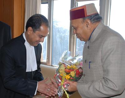 V.K.Sharma as new CJ of Himachal Pradesh
