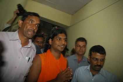 Swami Nithyananda arrested in Himachal