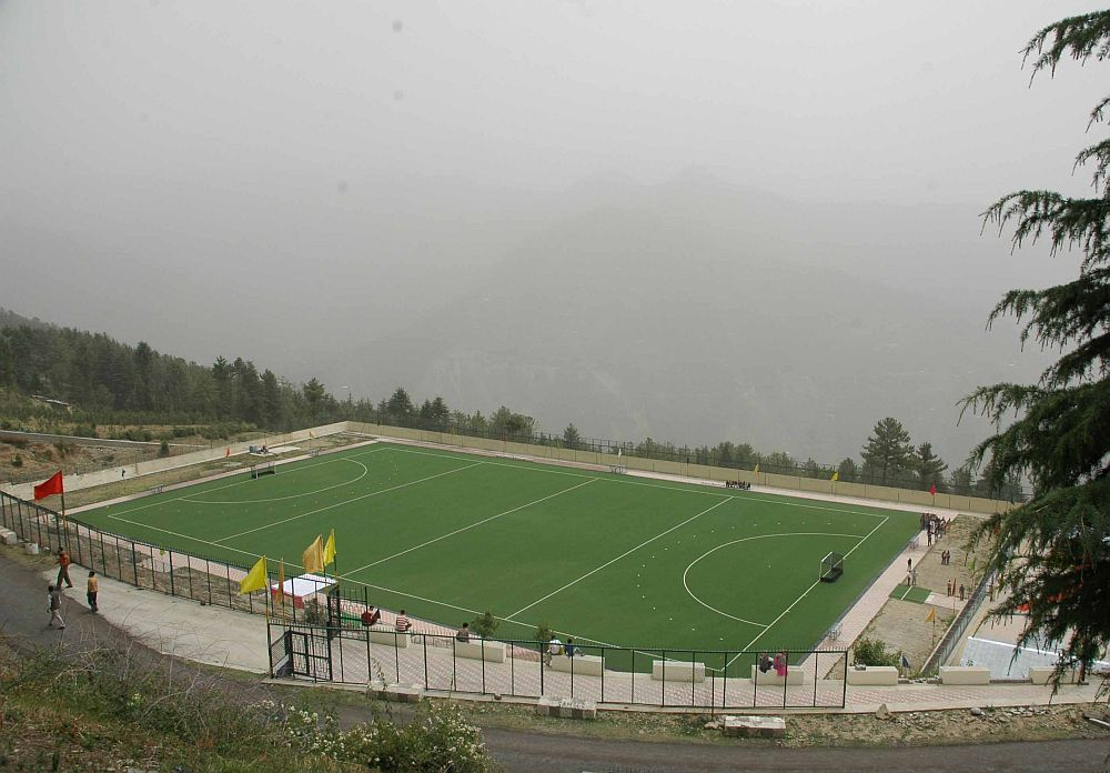 Highest Hockey ground at Shilaroo