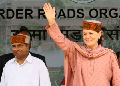 sonia gandhi lays foundation stone for rohtang tunnel hill post