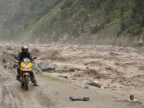 River Sutlej in fury                 Pic Courtesy - Amit Kaushal