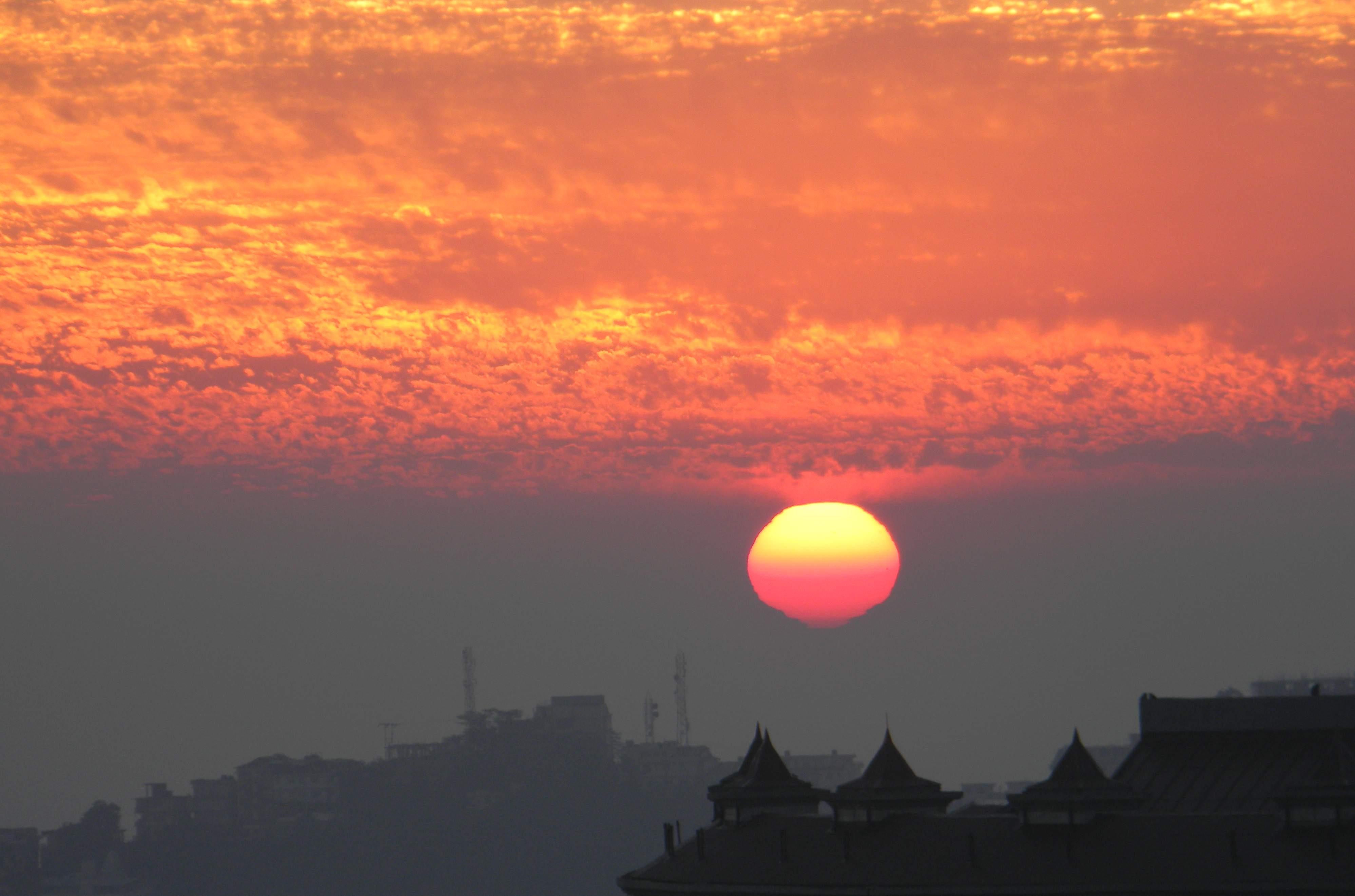 Shimla Sunset 12Dec10 1a