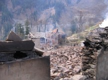 Devastating fire gutted another heritage village in Himachal