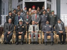 Army Officers from National Defence CollegeTraining Institute called on Governor