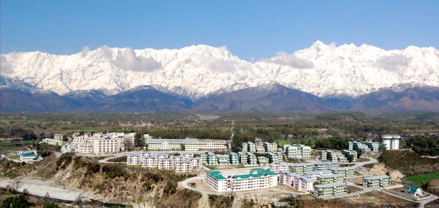Tanda Medical College, Kangra - In the lap of Himalayas:  Pic by Dr Vivek Chauhan