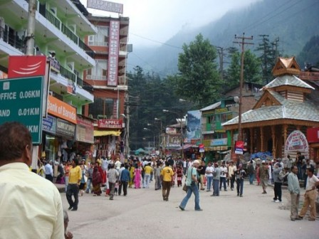 The Mall, Manali