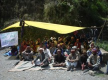 Villagers demand cancellation of micro hydel project