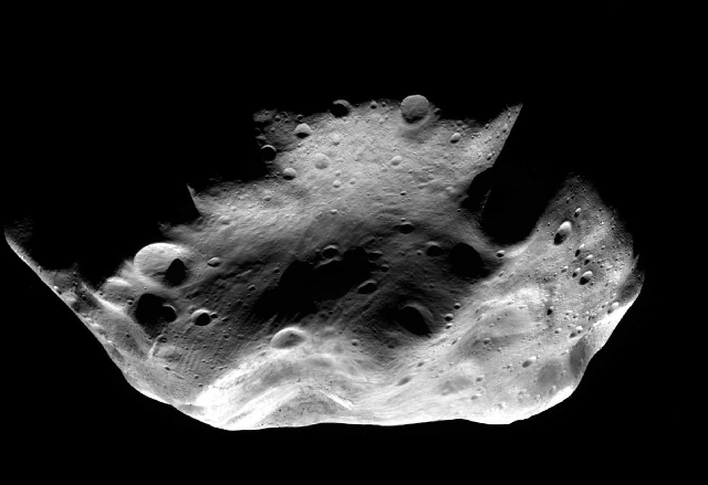 Lutetia asteroid: Photo by European Space Agency
