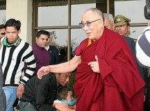 Dalai Lama Back In Dharmshala After Eye Operation