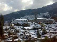 Freezing morning in Shimla, Manali