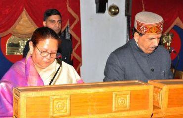 Khimi Ram - Oath Ceremony - Shimla