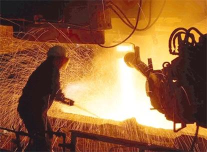 Industrial slowdown