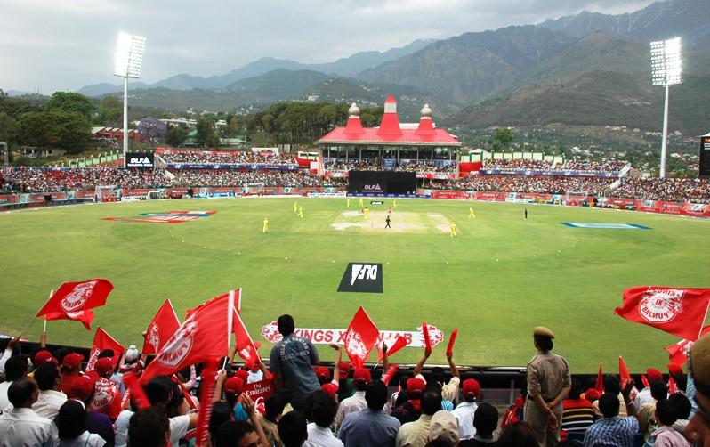 File Photo of Dharamshala Cricket Stadium