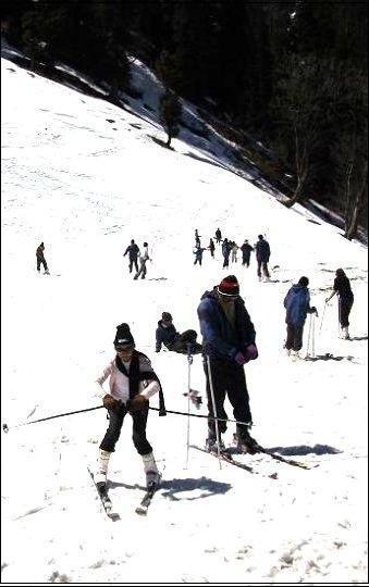 Himachal Pradesh - Skiing - Solang-Manali