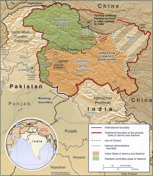 Kashmir_map_big, Jammu and Kashmir News