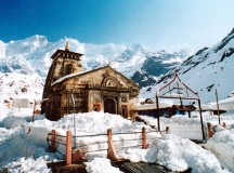 Kedarnath temple - File Photo