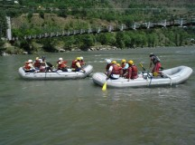 Rafting on Beas near Pridi, Kullu