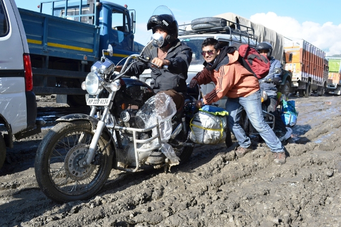 The Sinking Rohtang Traffic Woes