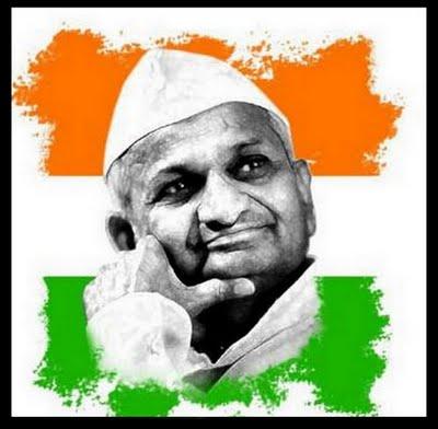Anna Hazare - Anti Corruption Crusader