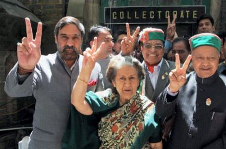 Himachal Elections_Congress_Walkout