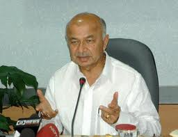 Home Minister Shushil Kumar Shinde