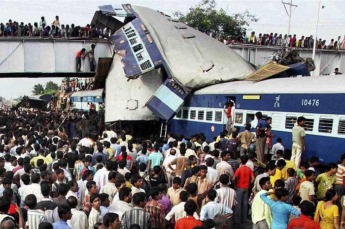 Odisha Train Auto Accident
