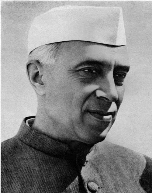 Pandit Nehru Founding Father of India