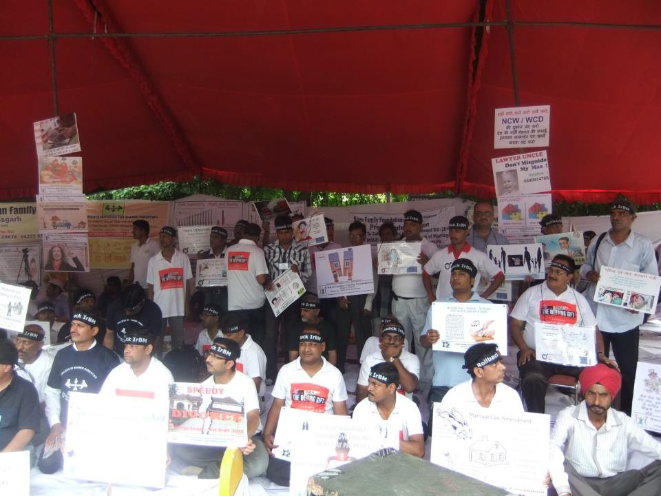 Rollback IRBM Rally Delhi Protest