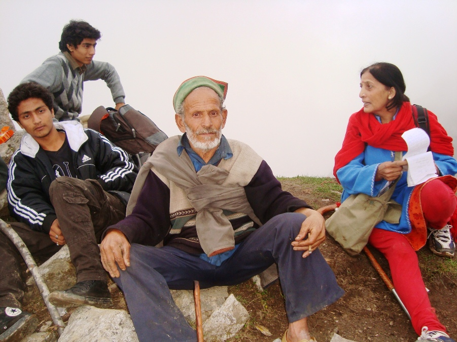 Sh Shonka Ram who was a godsend for us to reach the night shelter