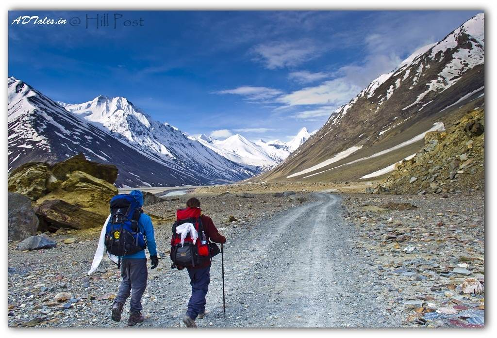 Walking around at Batal-Spiti
