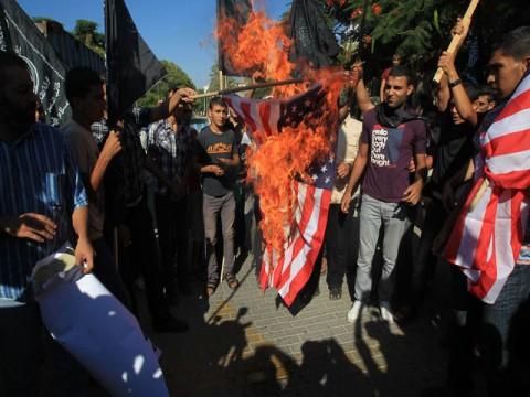 Anti Isam Protests in J&K