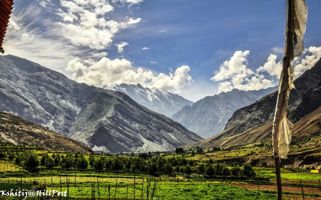Tholong Village Lahaul Valley