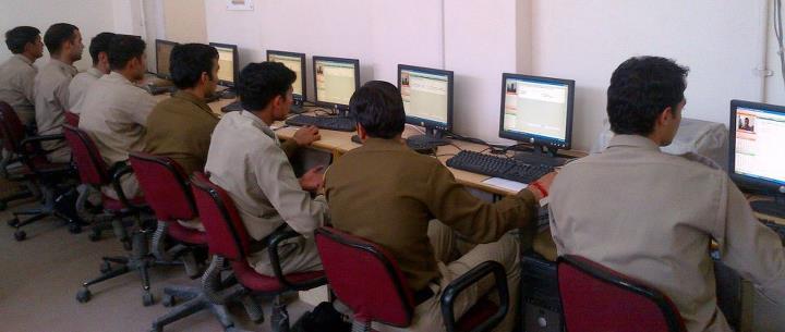 Mandi Police on Facebook_Computer Training