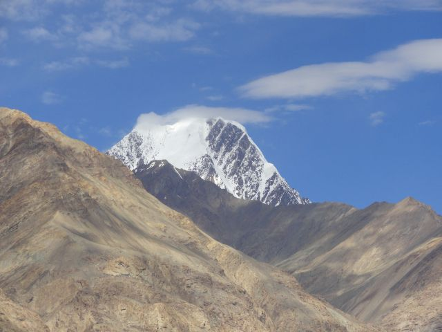 On way to Siachen