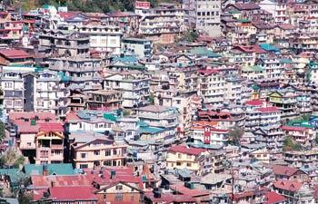 Shimla Concrete Jungle