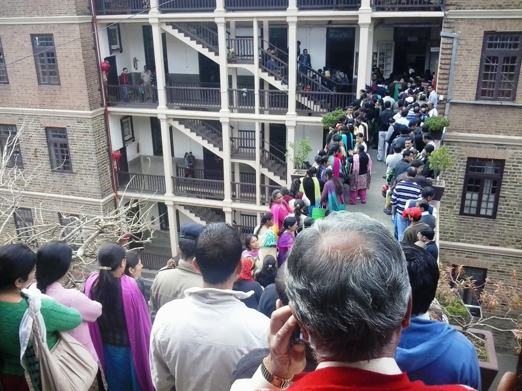 Shimla St. Edward's Long Admission Queue