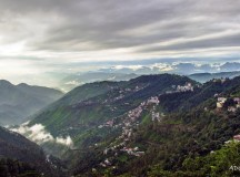Monsoon view from Shimla