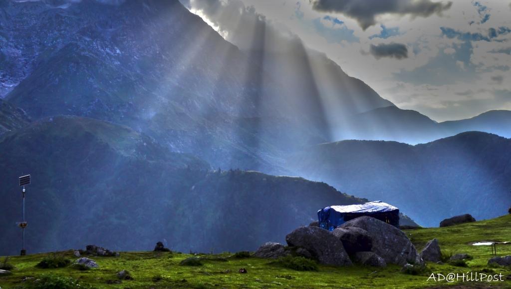 Triund is a popular trekking destination in Dharamsala, Himachal ...