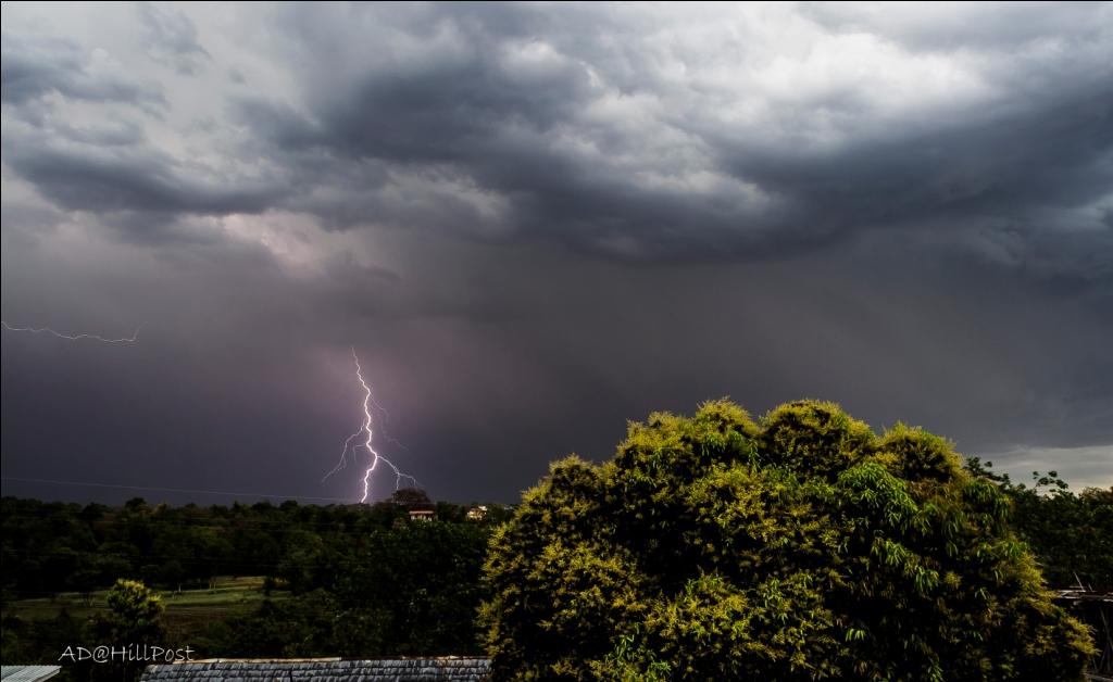 Nature gone Wild-Lightning at hamirpur