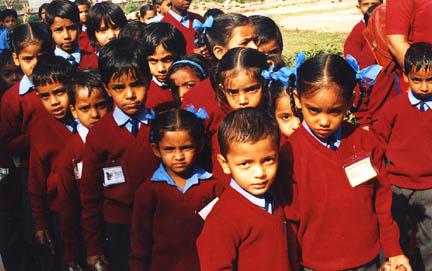 Delhi School Kids