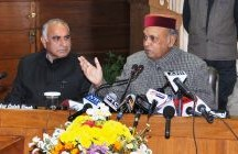 High turnout in Himachal, a vote against price rise – Dhumal