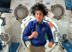 Sunita Willams returns from space
