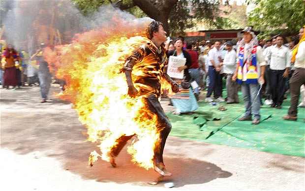 TIbet Self Immolations