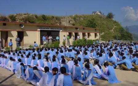 An Uttarakhand school