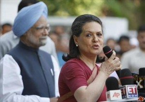 sonia manmohan in top of forbes most powerful list hill post as leader of s ruling party sonia gandhi