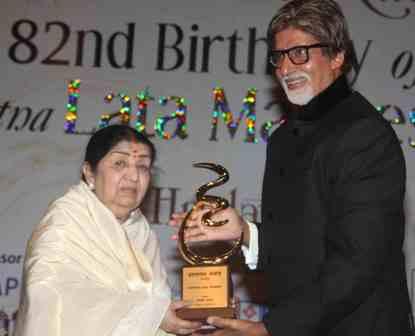 AmitabhBachchan - Lata Mangeshkar