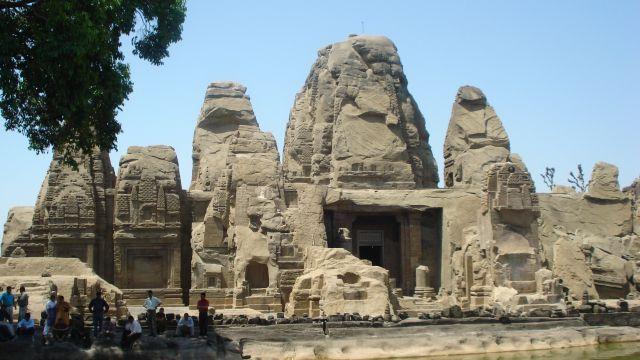 Rock cut Masroor temple