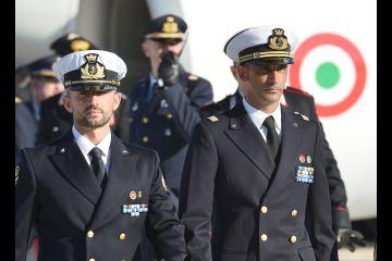 Italian marines return to India